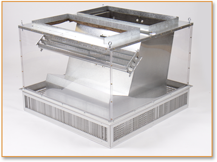 Ruskin Rooftop Systems Gt Our Products Gt Concentrics